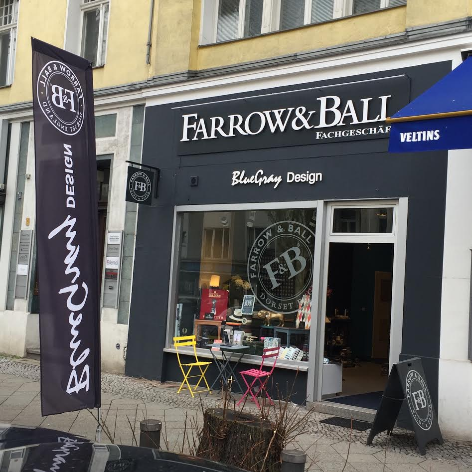 Farrow and ball farben und tapeten in berlin bluegray design for Tapeten berlin
